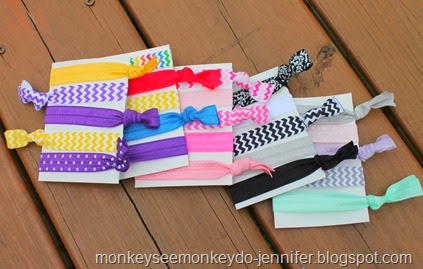 Monkey See Monkey Do In My Etsy Shop Hair Ties With