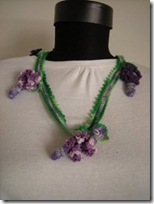 crochet necklace 30