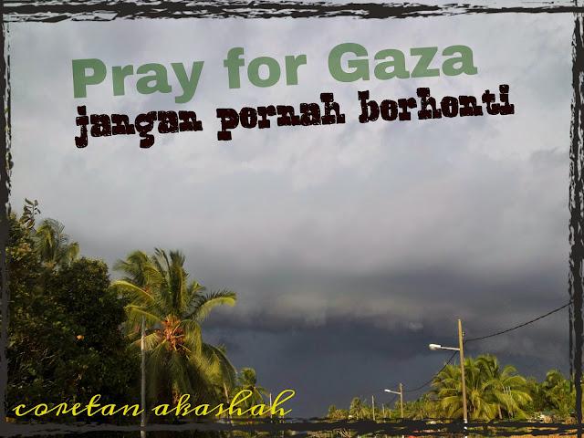 Coretan buat saudaraku di GaZa