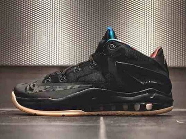 Nike LeBron 11 Low Black & Hyper Crimson