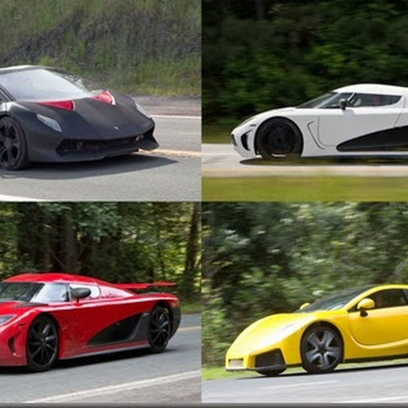 "The Super Cars of ""Need for Speed"" (Opens Mar 12)"