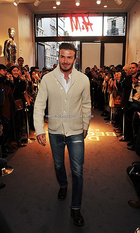 DAVID BECKHAM H&M BODY UNDER WEAR global launch collection briefs, boxers, vests, T-shirts, pyjamas  long johns.