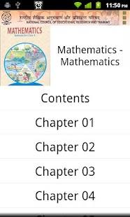 Ncert Textbooks - screenshot thumbnail