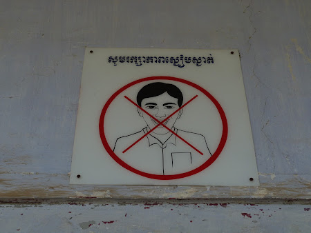 Khmerii rosii Phnom Penh: interzis rasul