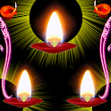 Diwali Lamp Fall icon