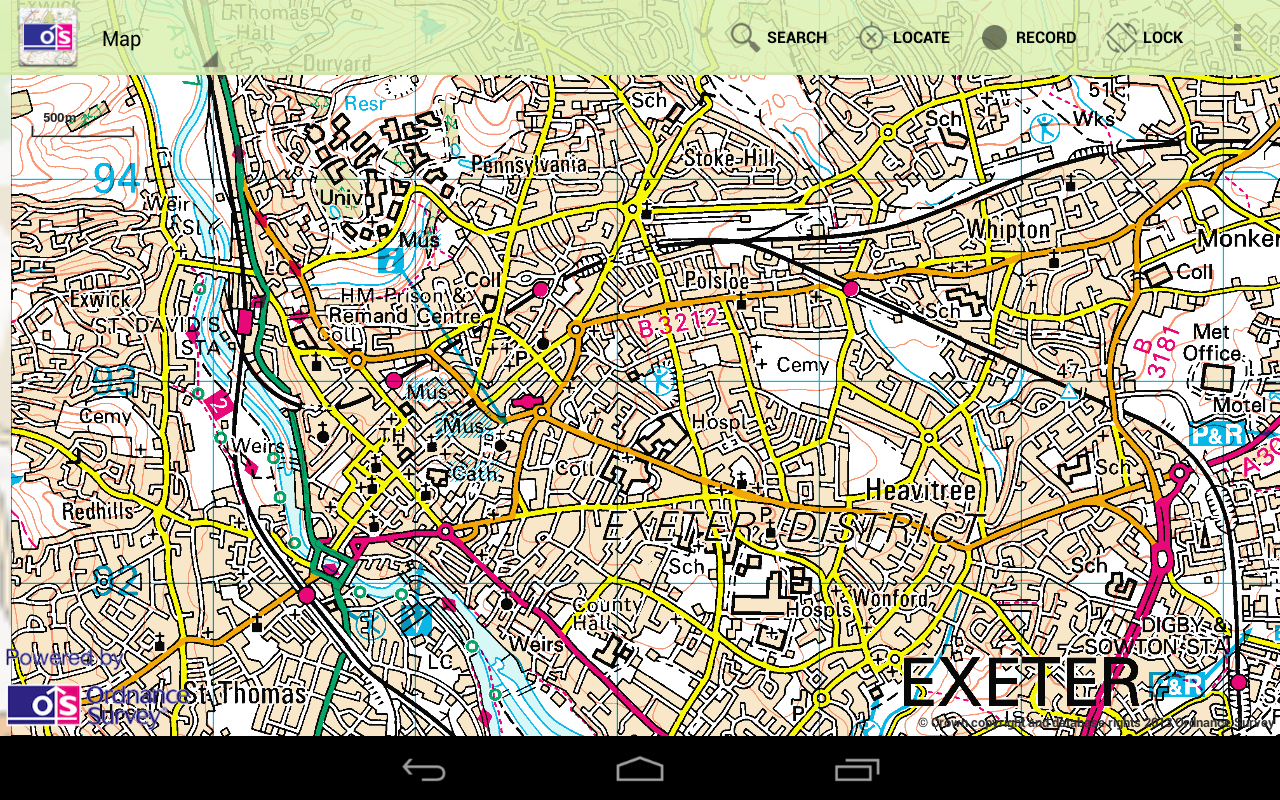 OS MapFinder- screenshot