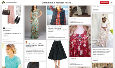 Feminine & Modest Fashion ~ A Guide to Styling Vintage | Lavender & Twill