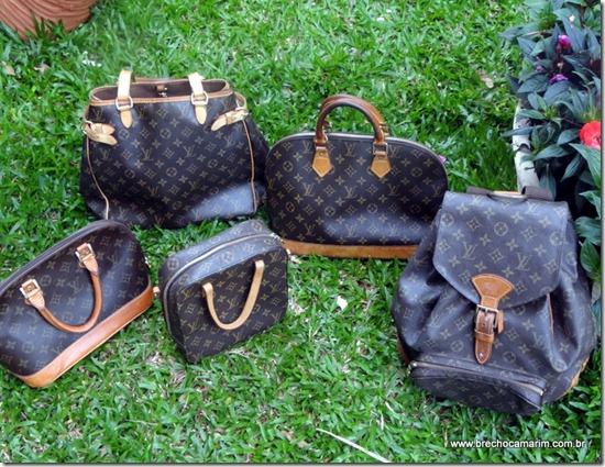 Brechó Camarim  Bolsa Louis Vuitton original e barato 021ffc29b3