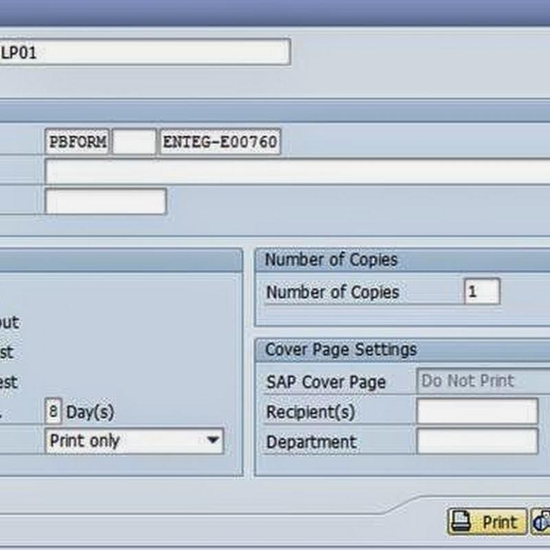 Driver program in Adobe forms - Team ABAP