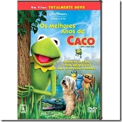 Os Melhores Anos de Caco - capa do DVD