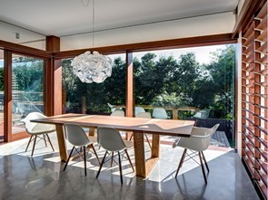 comedor-Casa-Northbridge-de-Arquitectura-Roth