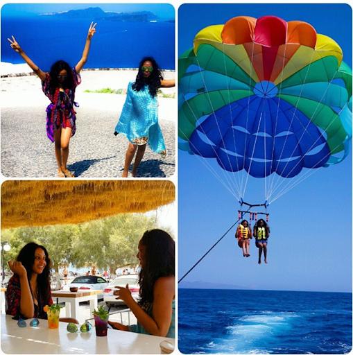 PHOTOS: Sylvia Nduka And Ene Maya's Vacation in Santorini Greece 4
