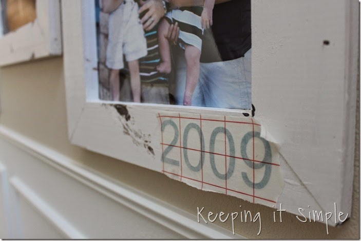 DIY Gallery Wall With Old Family Pictures (12)