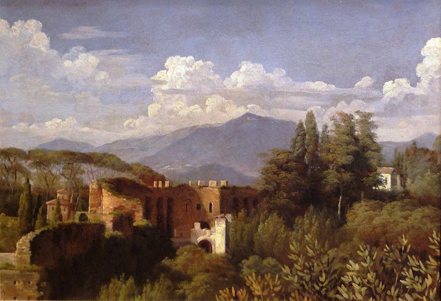François-Édouard Picot - 15 he Gate of Belisarius, Seen from the Villa Medici.jpg