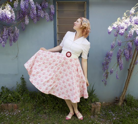 Circle skirt fun | Lavender & Twill
