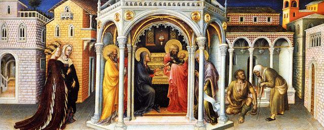 Gentile di Niccolo - 13  La presentación en el templo de madera.jpg