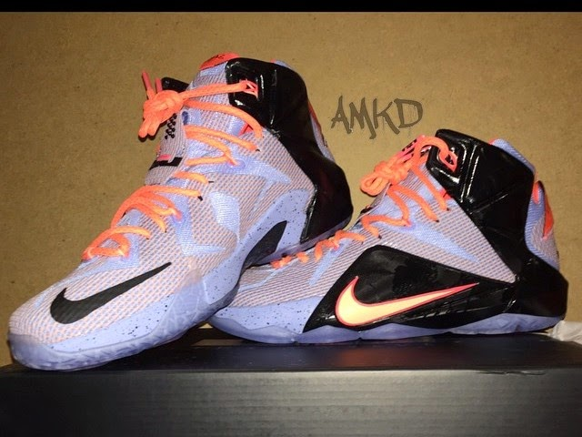 big sale 55872 60d96 First Look at Nike LeBron XII 8220Easter8221 684593488