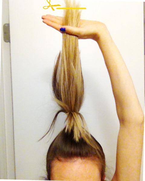 Hairs How I Cut My Own Bean In Love