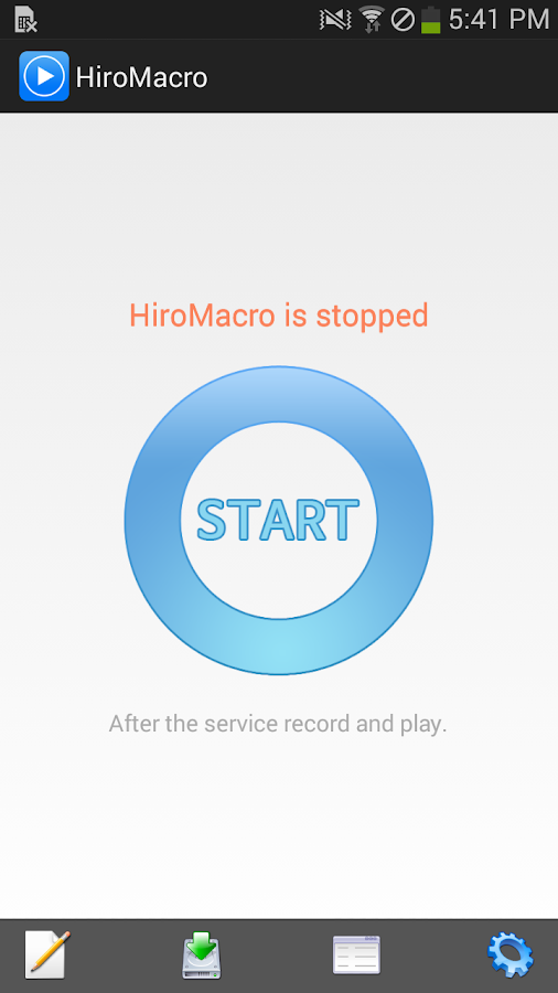 HiroMacro Auto-Touch Macro- screenshot