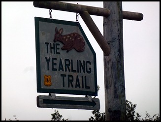 03 - Yearling Trail - Sign