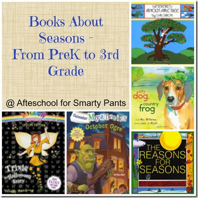 Afterschool for Smarty Pants: Books about Seasons