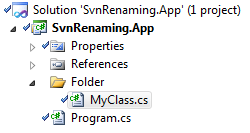 Yet another layer of indirection: Renaming files is still a