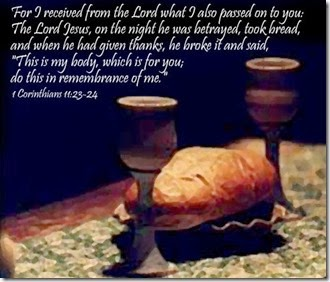 communion-scripture 1 Cor 11