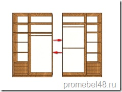 конструкция шкафа
