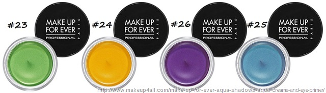 Make-Up-For-Ever-Aqua-Cream-new-shades-yellow-green-purple-blue-1