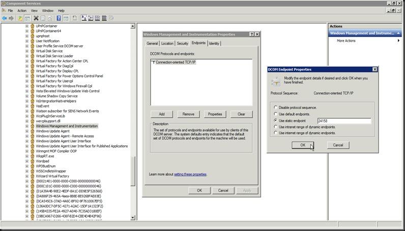Dpm firewall settings