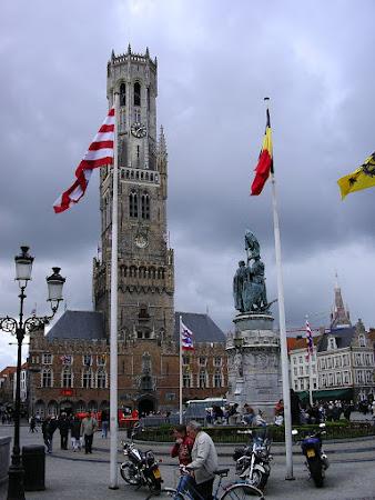 Obiective turistice Belgia - Belfort din Bruges