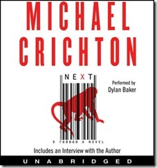 Next, by Michael Crichton