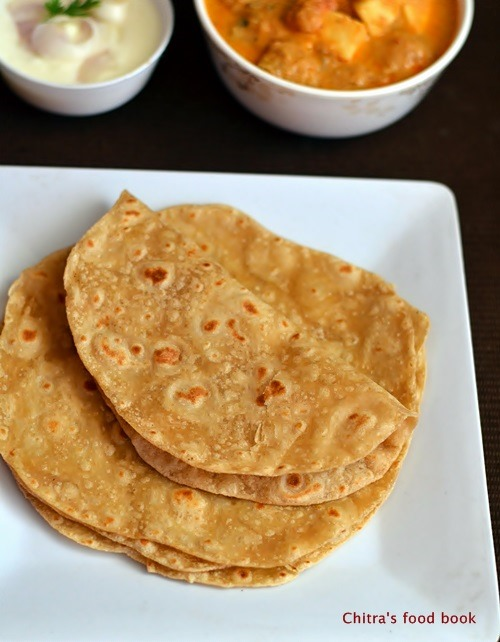 How to make soft chapatichapathi recipe chitras food book soft chapati forumfinder Gallery