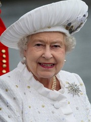 The Queen on Flotilla Day