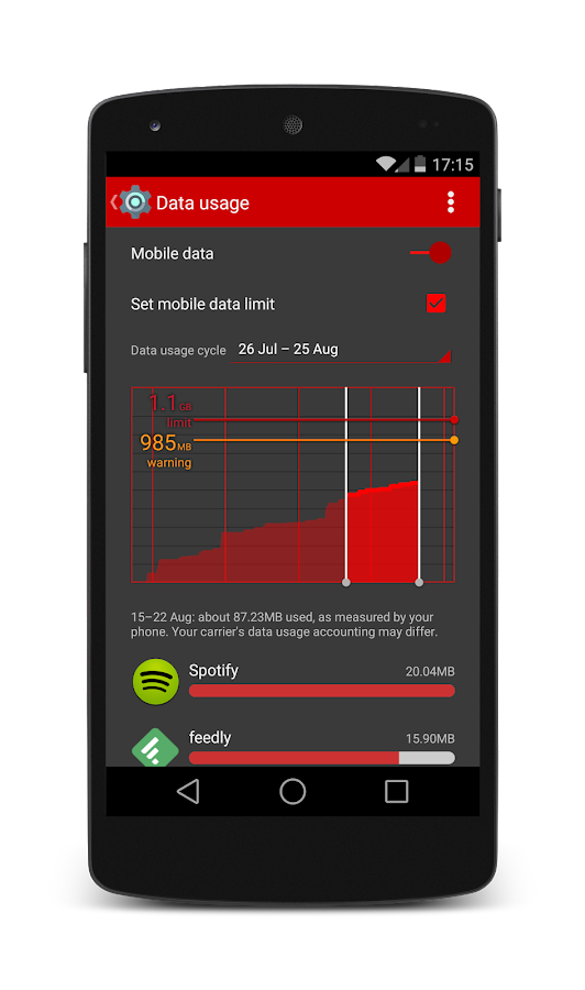 L RED Android Theme CM11/PA - Android Apps on Google Play