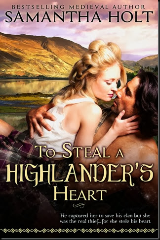 Book Cover - To Steal A Highlanders Heart