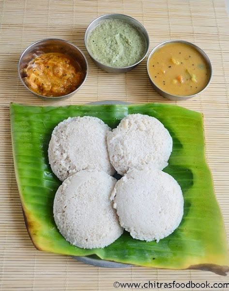 Barley oats idli recipe