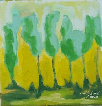 Etsy paintings: Hillary Butler Fine Art