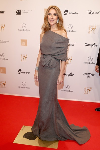 Celine Dion BAMBI Awards 2012 Red Carpet Arrivals