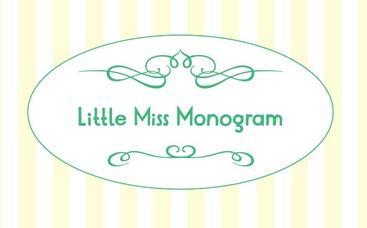 Little Miss Monogram Logo