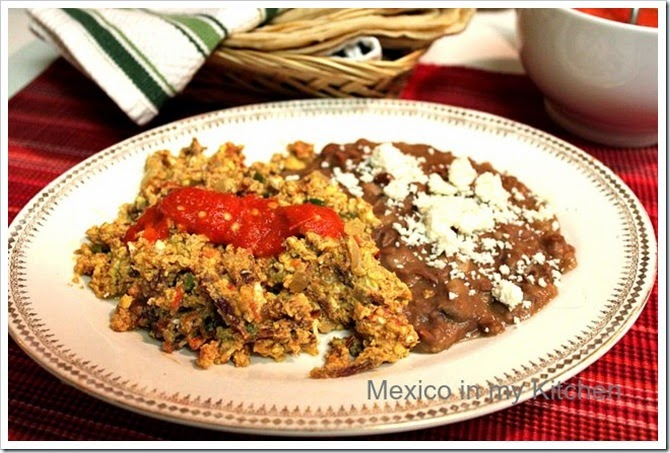Machaca with eggs ( Machaca con huevos) - 1