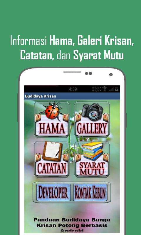 Budidaya Bunga Krisan- screenshot