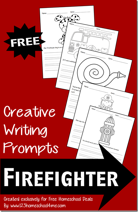 Creative Writing Prompts: Firefighter