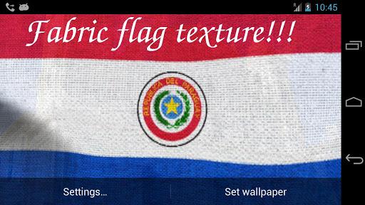 玩免費個人化APP|下載3D Paraguay Flag LWP + app不用錢|硬是要APP