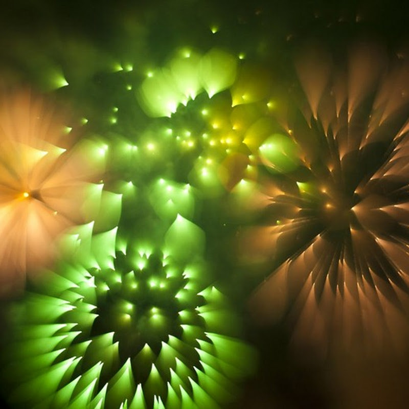 Long Exposure Firework Photographs by David Johnson