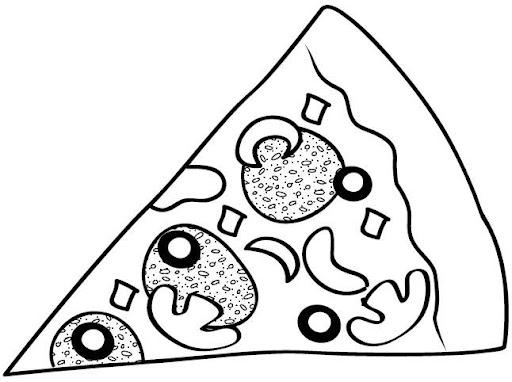 trozo de pizza