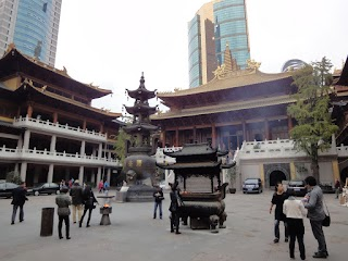 Temple de Jing'an à Shanghai