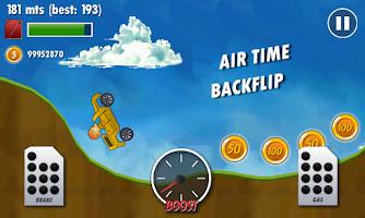 Screenshot of Mountain Climb Racer