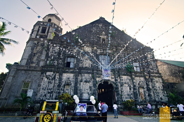 Bolinao Church Facade in Pangasinan