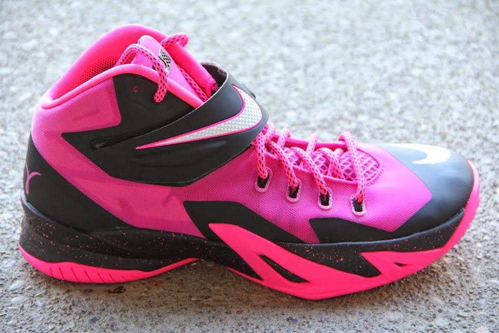 c8042cd2727 ... 8220Think Pink8221 Nike Zoom Soldier 8 Set to Release on September 20th  ...